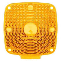 Truck-Lite 8960A Square, Yellow, Acrylic, Replacement Lens for Pedestal Lights (940, 941, 950, 955, 956, 957), Replacement Lens, Truck-Lite