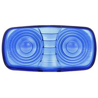 Truck-Lite 9007B Oval, Blue, Acrylic, Replacement Lens, Snap-Fit