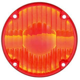 Truck-Lite 9015 Circular, Red, Acrylic, Replacement Lens, 4 Screw