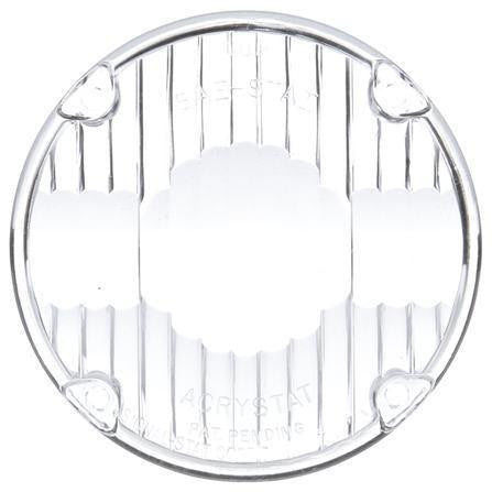 Truck-Lite 9015W Circular, Clear, Acrylic, Replacement