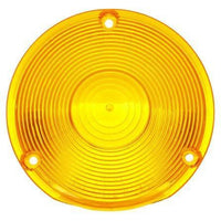 Truck-Lite 9016A Circular, Yellow, Acrylic, Replacement Lens, 3 Screw