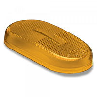 Grote 90203 Yellow Oval, Clearance Marker, Replacement Lens