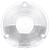 Truck-Lite 9021W Circular, Clear, Acrylic, Replacement Lens, 3 Screw