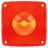 Truck-Lite 9083 Square, Red, Polycarbonate, Replacement Lens, 4 Screw