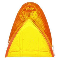 Truck-Lite 9087 Oval, Yellow, Acrylic, Replacement Lens for Cab Markers (1312), 1 Screw, Replacement Lens, Truck-Lite