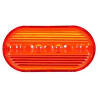 Truck-Lite 9093 Oval, Red, Acrylic, Replacement Lens, Snap-Fit