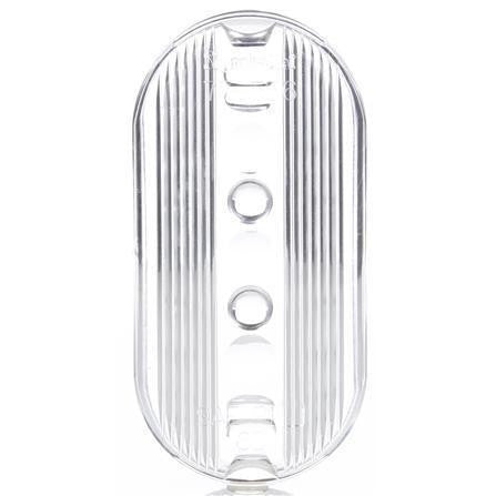 Truck-Lite 9093W Oval, Clear, Acrylic, Replacement Lens, Snap-Fit