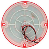 Truck-Lite 91244R 91 Series LED, Red, Round, 47 Diode, S/T/T, 4 Screw, Hardwired, Stripped, 12V