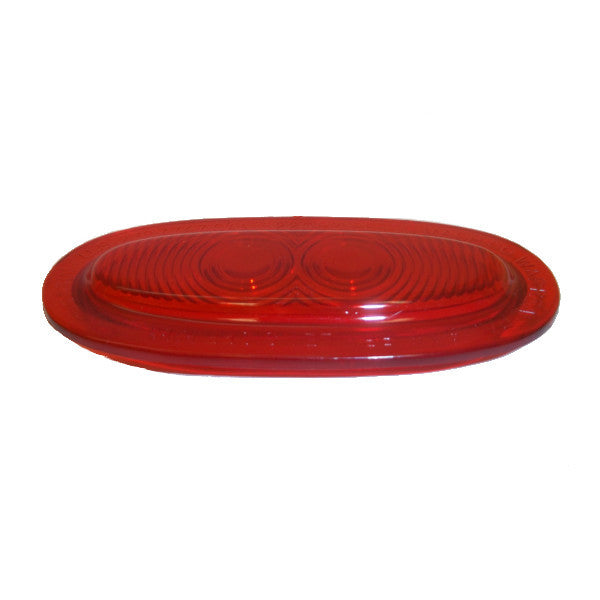 Betts 920049 Red Oval, Acrylic Replacement Lens For Betts, And Do-Ray Lights