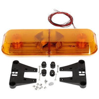 Truck-Lite 92669Y Gas charge, Yellow, Rectangle, 2 Bulb, Light Bar, 12V
