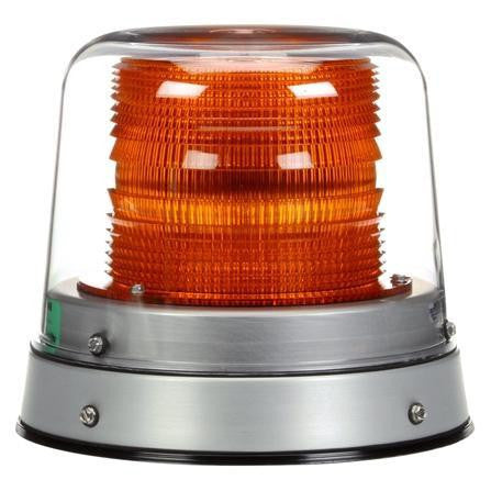 Truck-Lite 92865Y LED High Profile Beacon Yellow Permanent Mount 12-24V