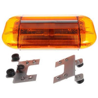 Truck-Lite 92866Y LED, Yellow, Rectangular, 32 Diode, Mini Light Bar, Permanent Mount, 12-24V
