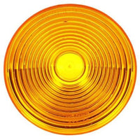 Truck-Lite 9341A Circular, Yellow, Acrylic, Replacement Lens, Snap-Fit