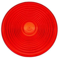 Truck-Lite 9341 Circular, Red, Acrylic, Replacement Lens, Snap-Fit
