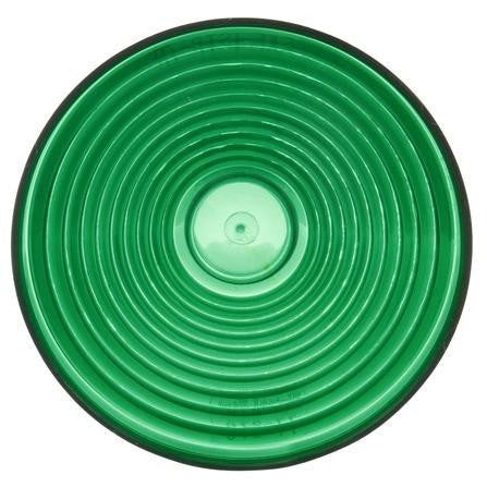 Truck-Lite 9341G Circular, Green, Acrylic, Replacement Lens, Snap-Fit