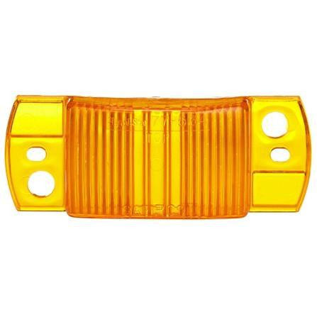 Truck-Lite 9342A Rectangular, Yellow, Polycarbonate, Replacement Lens, Snap-Fit