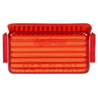 Truck-Lite 9342 Rectangular, Red, Polycarbonate, Replacement Lens, Snap-Fit
