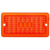 Truck-Lite 9371 Rectangular, Red, Acrylic, Replacement Lens, 2 Screw