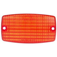Truck-Lite 9372 Rectangular, Red, Polycarbonate, Replacement Lens, 2 Screw