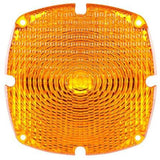 Truck-Lite 9382A Square, Yellow, Acrylic, Replacement Lens, 4 Screw