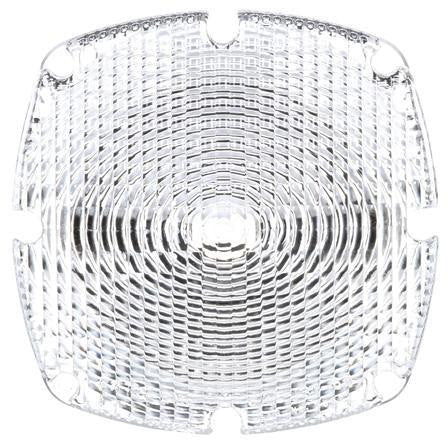Truck-Lite 9382W Square, Clear, Acrylic, Replacement Lens, 4 Screw