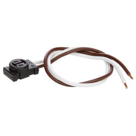 Truck-Lite 94237 Strobe Plug, Fit 'N Forget M/C, Stripped End, 10 in.