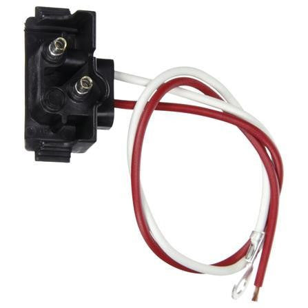 Truck-Lite 94992 S/T Plug, Right Angle PL-2, Stripped End/Ring Terminal, 11 in.