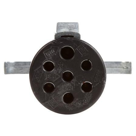 Truck-Lite 97159 7 Conductor Female 7 Pole Trailer Connector Plug Metal