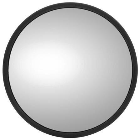 Truck-Lite 97614 8.5 in Heated Silver Steel Convex Mirror Round