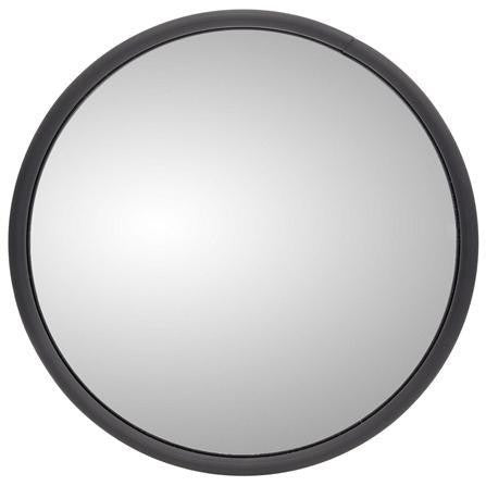 Truck-Lite 97615 8.5 in Heated Black Steel Convex Mirror Round