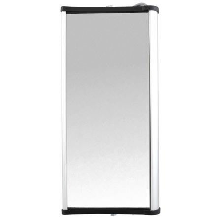 Truck-Lite 97625 Left Hand Side, 7 x 16 in., West Coast Mirror, Silver Aluminum