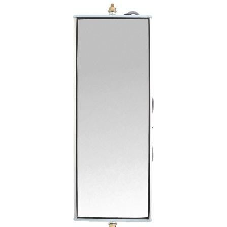 Truck-Lite 97631 Economy, 6 x 16 in., West Coast Heated And Lighted Mirror, Silver Aluminum