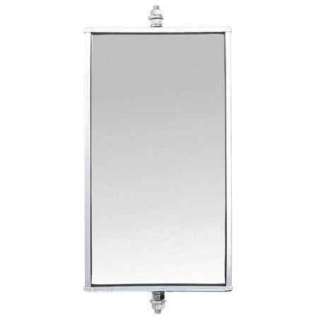 Truck-Lite 97652 6 x 11 in., Jr. West Coast Mirror, Silver Aluminum (Discontinued)