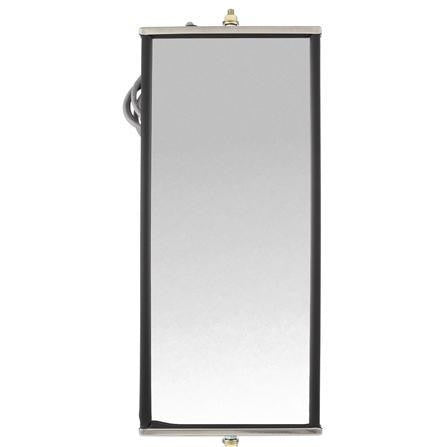 Truck-Lite 97837 7 x 16 in., West Coast Heated Mirror, Silver Stainless Steel