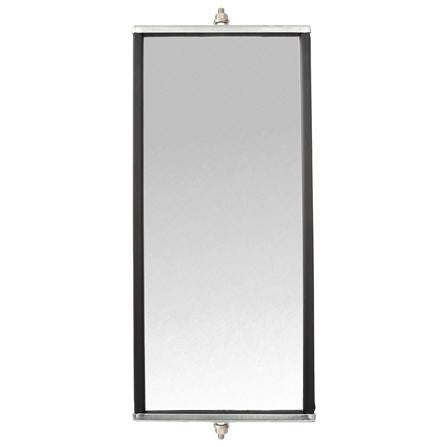 Truck-Lite 97839 Box Style, 7 x 16 in., West Coast Mirror, Silver Aluminum
