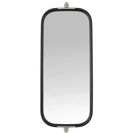 Truck-Lite 97861 Pyramid Style, 7 x 16 in., West Coast Mirror, Silver Stainless Steel