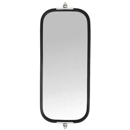 Truck-Lite 97866 Pyramid Style, 7 x 16 in., West Coast Heated Mirror, Silver Stainless Steel