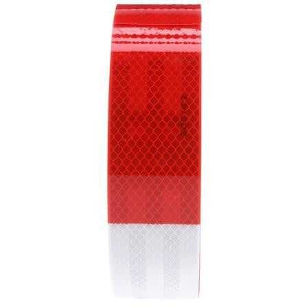Truck-Lite 98101 Red/White Reflective Tape, 2 in. x 150 ft.
