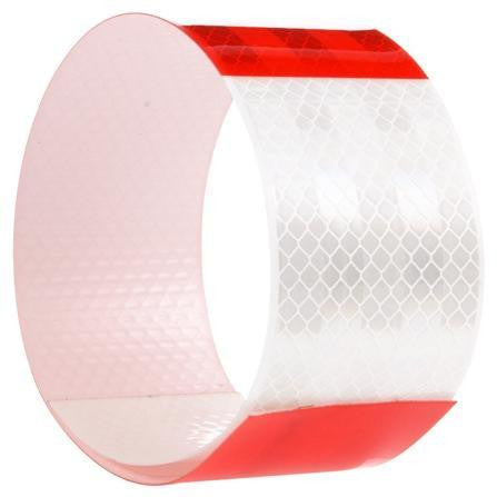 Truck-Lite 98104 Red/White Reflective Tape, 2 in. x 18 in.