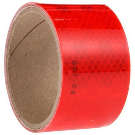 Truck-Lite 98108 Red/White Reflective Tape, 2 in. x 54 in.
