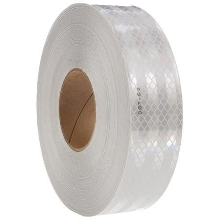 Truck-Lite 98126 White Reflective Tape, 2 in. x 150 ft., Roll