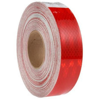 Truck-Lite 98127 Red/White Reflective Tape, 2 in. x 150 ft., Roll