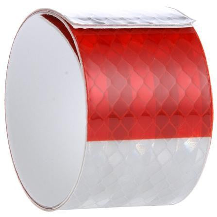Truck-Lite 98136 Red and White Reflective Tape, 2 in. x 18 in.