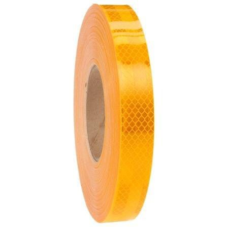 Truck-Lite 98167 School Bus Yellow Reflective Tape, 1 in. x 150 ft., Premium Series