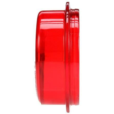 Truck-Lite 99101R Tail, Circular, Red, Acrylic, Replacement Lens, Snap-Fit