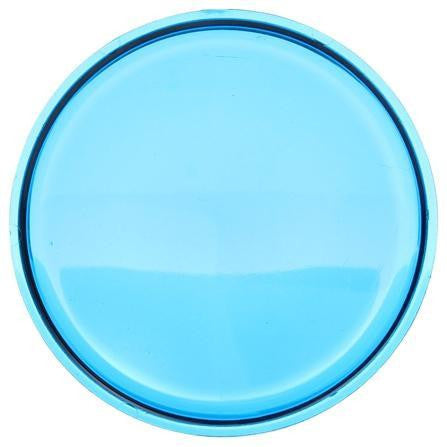 Truck-Lite 99120B Circular, Blue, Polycarbonate, Replacement Lens, Snap-Fit