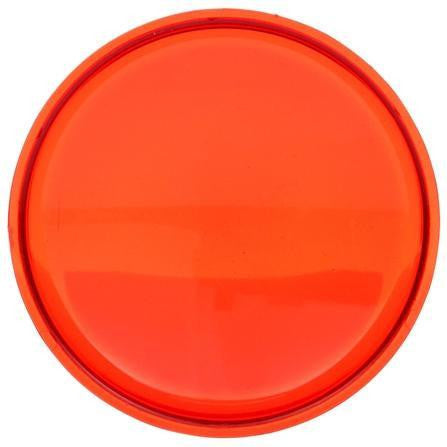 Truck-Lite 99120R Circular, Red, Polycarbonate, Replacement Lens, Snap-Fit