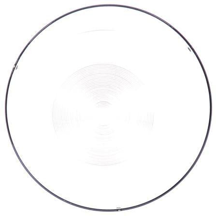 Truck-Lite 99143C Circular, Clear, Polycarbonate, Replacement Lens, 2 Screw