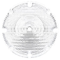 Truck-Lite 99168C Circular, Clear, Acrylic, Replacement Lens, 4 Screw