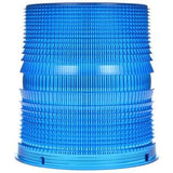 Truck-Lite 99220B Circular, Blue, Polycarbonate, Replacement Lens, Threaded Fit